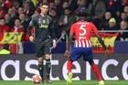 Ronaldo bị khóa chặt, Juventus gục ngã trước Atletico