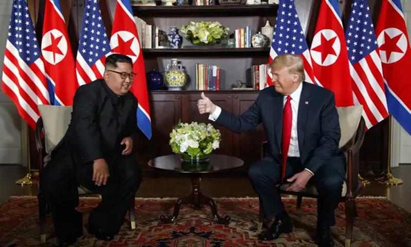 Ông Trump ra điều kiện với Kim Jong Un
