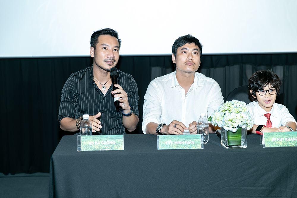 Cát Phượng - Kiều Minh Tuấn giữ khoảng cách khi đóng phim chung