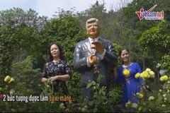 Du khách kéo nhau đi check in cùng 'ông Trump', 'ông Kim' tại Hà Nội