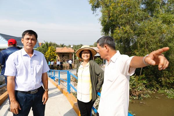 Tiger Beer tái chế nắp chai bia để xây cầu ở Tiền Giang