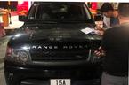 Range Rover bị ném đá trên cao tốc Hạ Long - Hải Phòng
