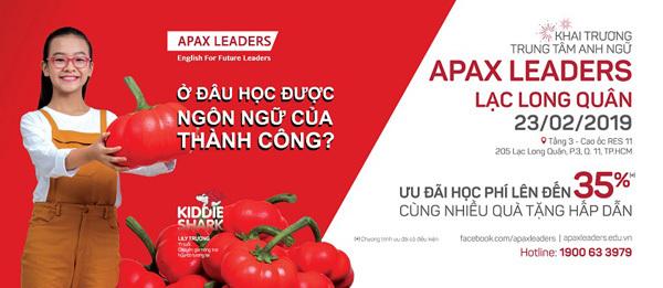 Apax Leaders khai trương trung tâm mới chào Xuân