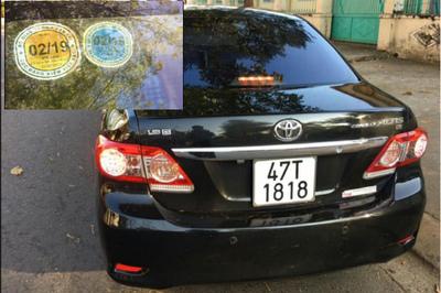 Vợ Phó GĐ Công an lái xe hết đăng kiểm: Chỉ xử phạt hành chính