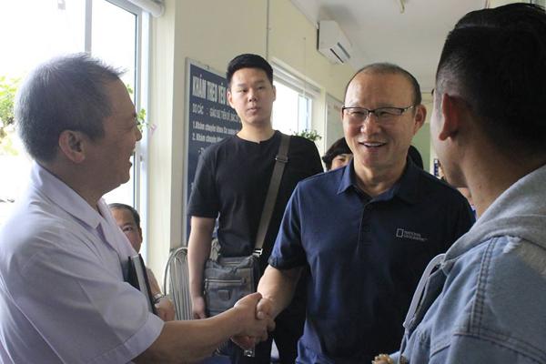 HLV Park Hang Seo được mời làm đại sứ Sức khoẻ Việt Nam