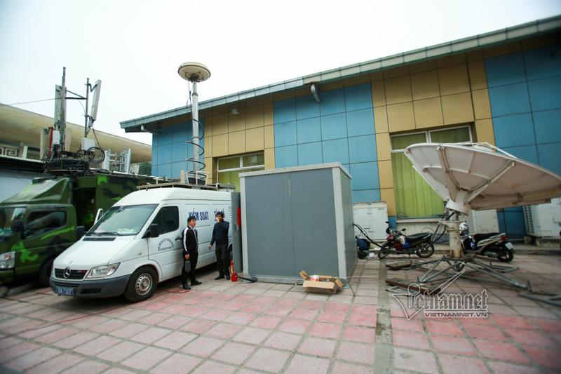 Bên trong trung tâm báo chí phục vụ Thượng đỉnh Mỹ - Triều