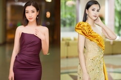 Mỹ Linh, Tiểu Vy đọ sắc 'một chín một mười' với đầm dạ hội