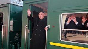 Triều Tiên chính thức xác nhận ông Kim Jong Un đến Việt Nam bằng tàu bọc thép