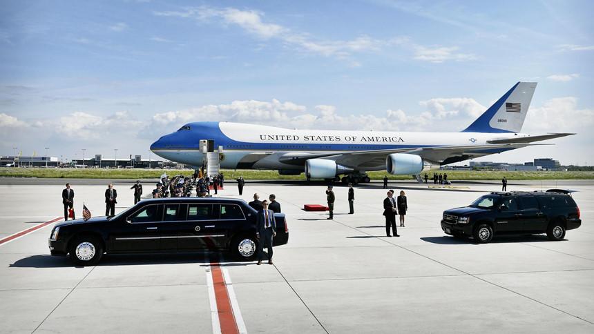 Chi phí hàng triệu USD cho mỗi chuyến công du của Air Force One
