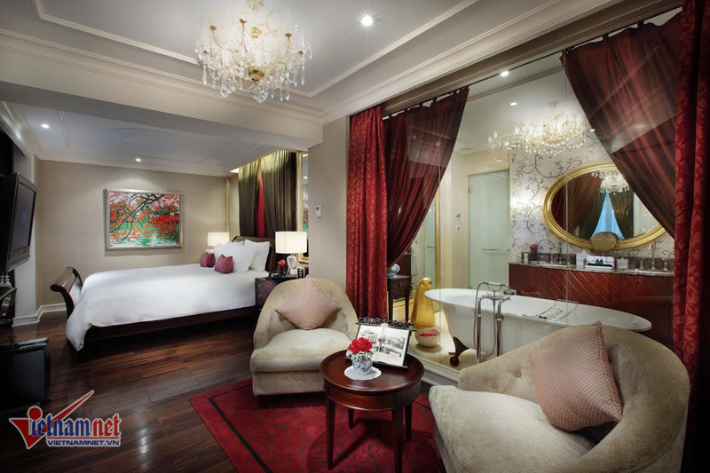 Has been motivated by the US president of Hanoi's luxury rooms