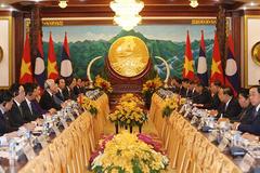 Việt-Lào hội đàm cấp cao, ký kết 9 văn kiện hợp tác