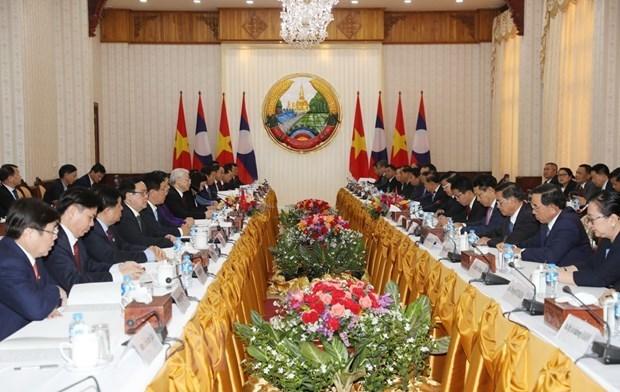 Đưa quan hệ đoàn kết đặc biệt Việt-Lào ngày càng khăng khít