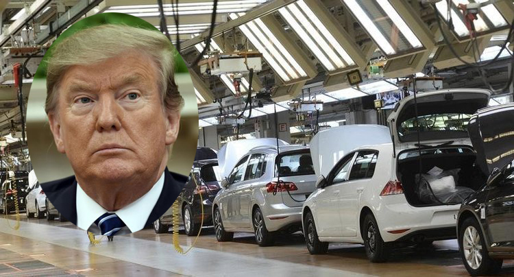 Tổng thống Donald Trump lại dọa tăng thuế ô tô nhập từ EU
