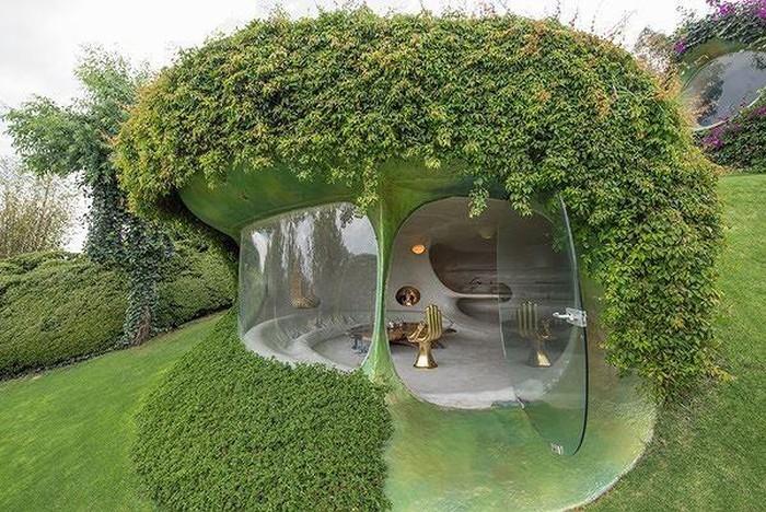 Tham quan căn nhà như hang động độc nhất thế giới