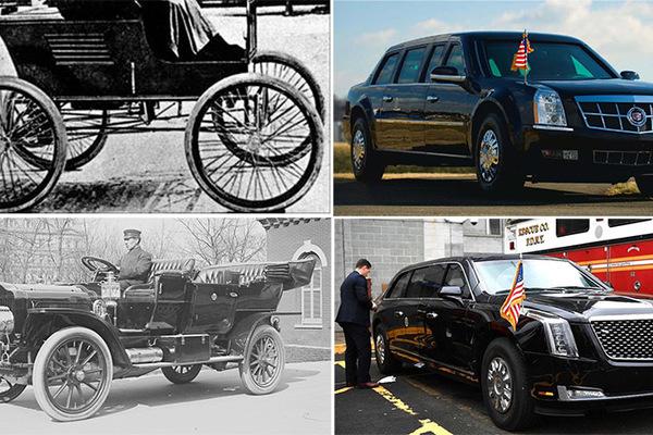 Xe tổng thống Mỹ thay đổi thế nào hơn 100 năm qua?