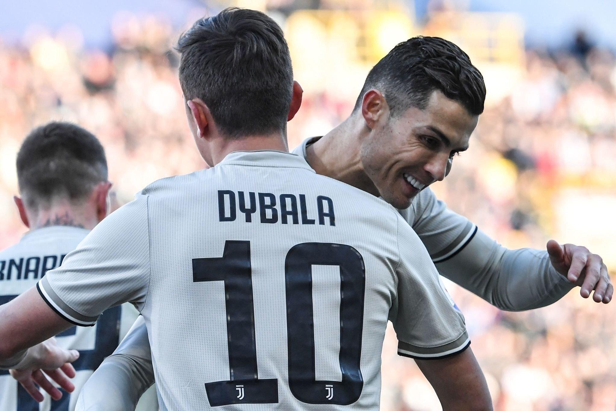 Ronaldo 'tịt ngòi', Dybala giải cứu Juventus