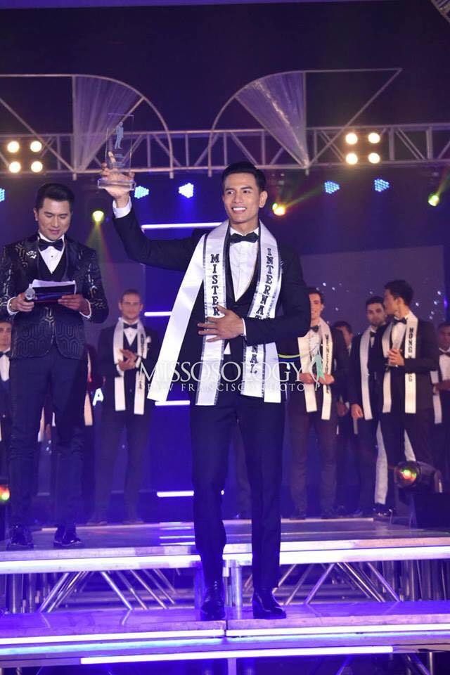 Người mẫu Việt Nam đăng quang Mr. International 2019