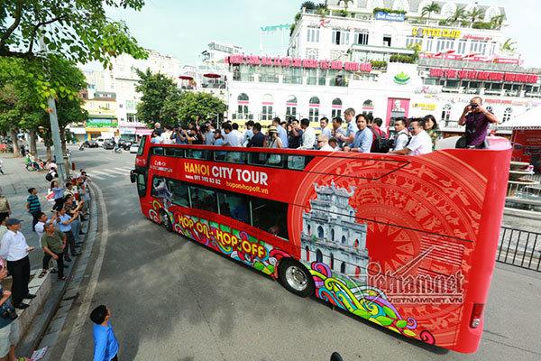 Miễn phí xe buýt cho phóng viên đưa tin hội nghị thượng đỉnh Mỹ-Triều
