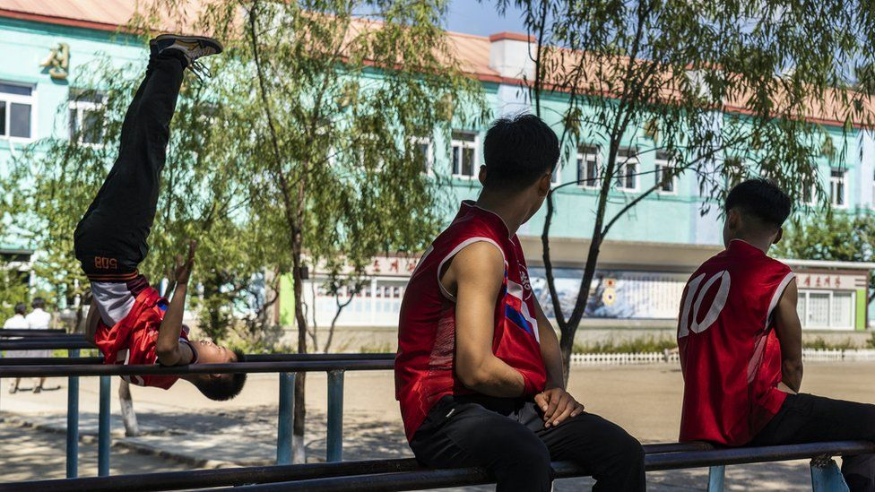 Triều Tiên,Bình Nhưỡng,trường học,trẻ em