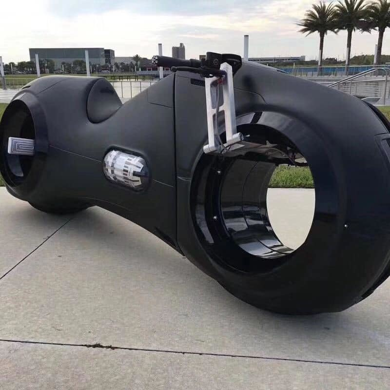 Phúc XO,siêu mô tô,xe mạ vàng,Tron Light Cycle