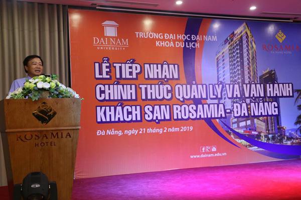 ĐH Đại Nam nhân rộng mô hình khách sạn thực hành