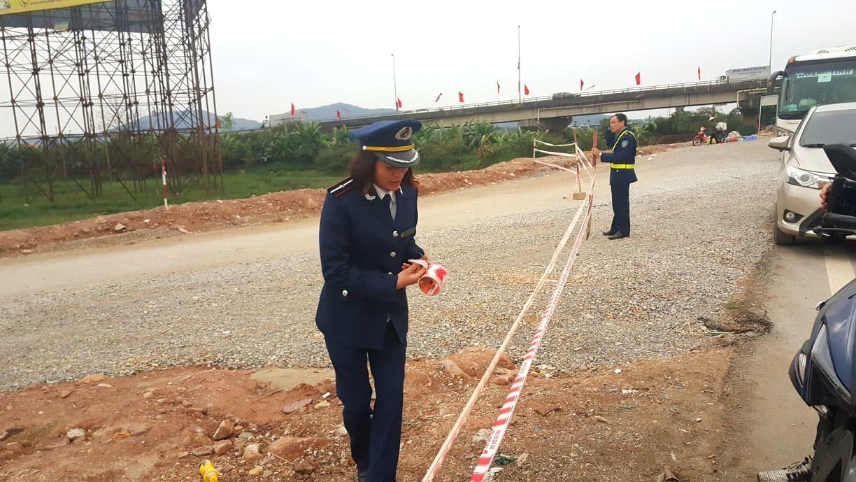 Giải tỏa hành lang, phát quang tầm nhìn QL1A qua Bắc Giang