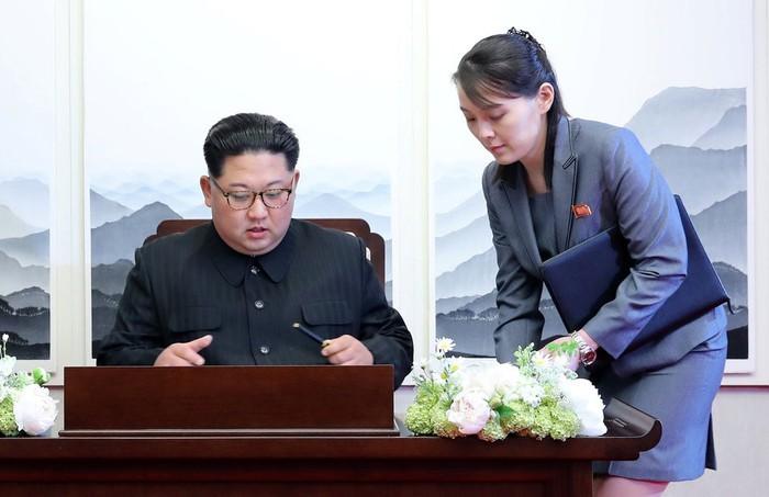 Hội nghị Mỹ Triều,hội nghị thượng đỉnh Mỹ Triều,thượng đỉnh Mỹ Triều,Kim Jong Un,Kim Yo-jong