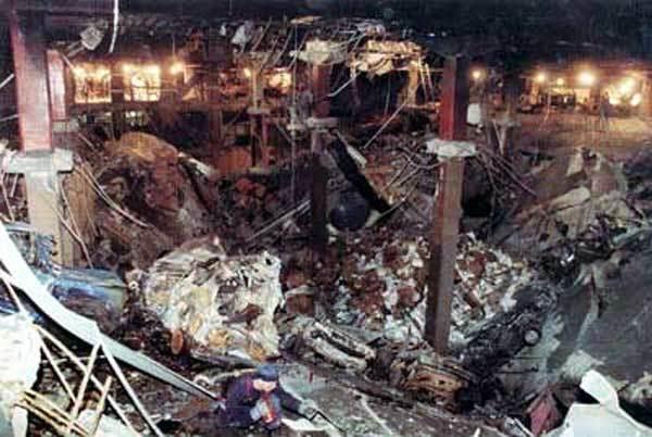 Ngày này năm xưa,Trung tâm thương mại thế giới,Mỹ,đánh bom