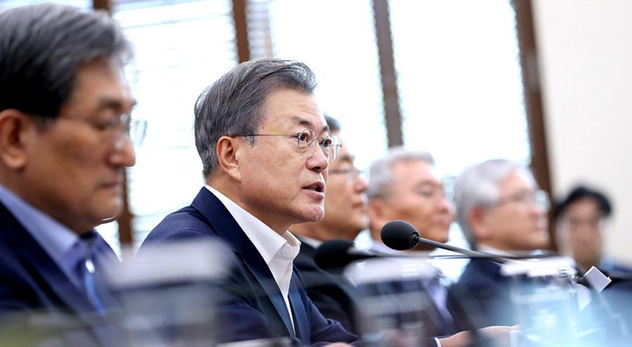 Tổng thống Hàn Quốc: 'Chủ tịch Kim chọn phát triển kinh tế'