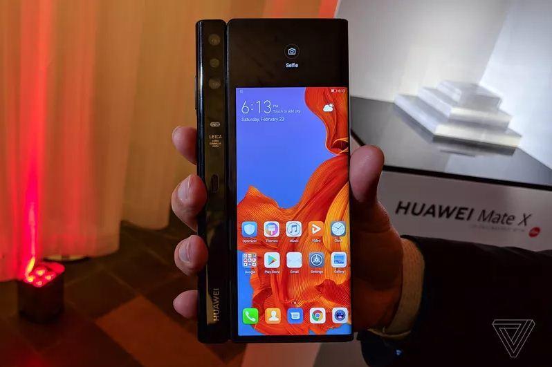 Huawei Mate X,Huawei,Điện thoại Huawei