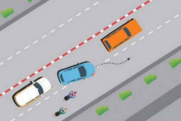 Không có biển cấm vượt, có thể vượt xe khác thoải mái?