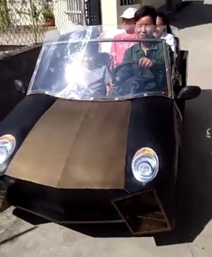 xe tự chế,siêu xe,ô tô điện,xe điện