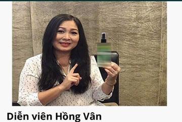NSND Hồng Vân bức xúc vì bị sử dụng hình ảnh quảng cáo trái phép