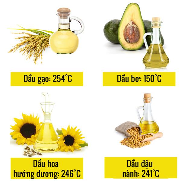 5 lưu ý sử dụng dầu ăn an toàn cho sức khỏe