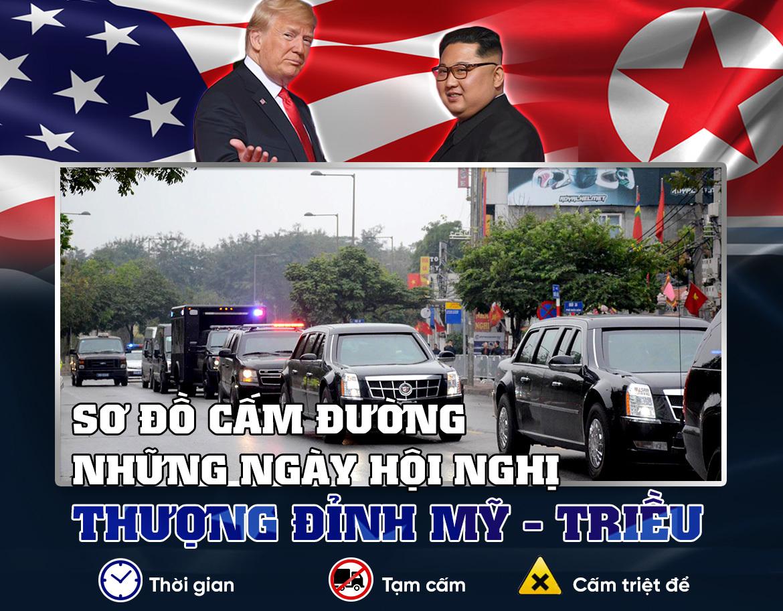 Hội nghị Mỹ Triều,hội nghị thượng đỉnh Mỹ Triều,giao thông Hà Nội,thượng đỉnh Mỹ Triều,Công an Hà Nội
