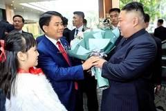 Chủ tịch Triều Tiên Kim Jong-un về khách sạn Melia