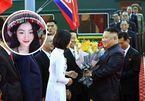 """Nữ sinh tặng hoa cho Chủ tịch Triều Tiên Kim Jong-un: """"Em khá hồi hộp!"""""""