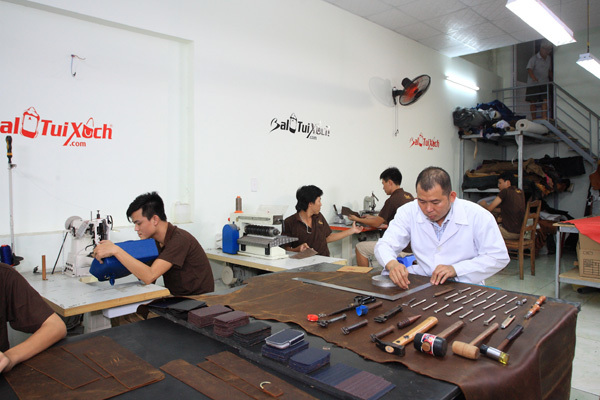 BaloTuiXach tiên phong gia công sản phẩm da ở Việt Nam