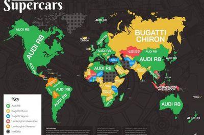 Siêu xe nào được tìm kiếm nhiều nhất trên Google?