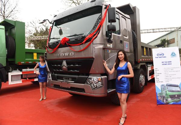 TMT ra mắt xe tải Sinotruk chuẩn khí thải Euro 5