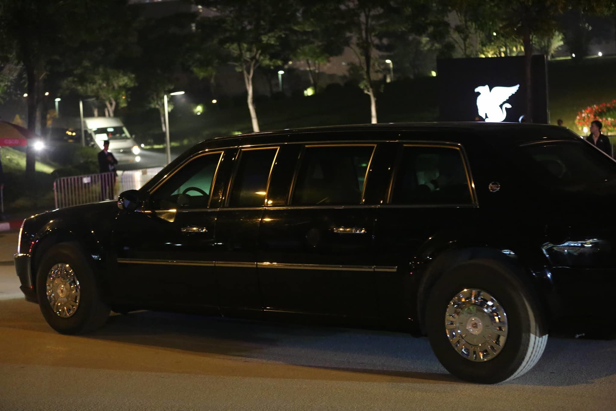 Khách sạn Marriott trước giờ đón Tổng thống  Donald Trump