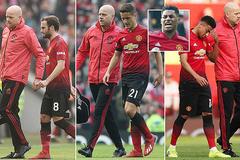 MU mất 10 trụ cột vì chấn thương, Bale giận tím mặt Courtois