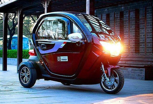 ô tô Trung Quốc,ô tô điện,xe 3 bánh