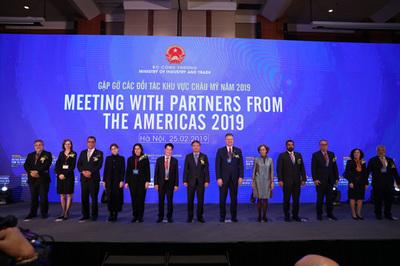 Tổng kim ngạch thương mại Việt Nam - Châu Mỹ tăng