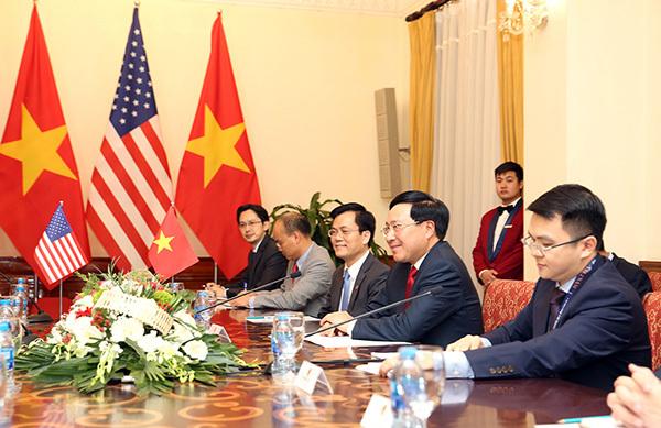 thượng đỉnh Mỹ-Triều,Ngoại trưởng Mỹ,Mike Pompeo,Phó Thủ tướng Phạm Bình Minh,Phạm Bình Minh