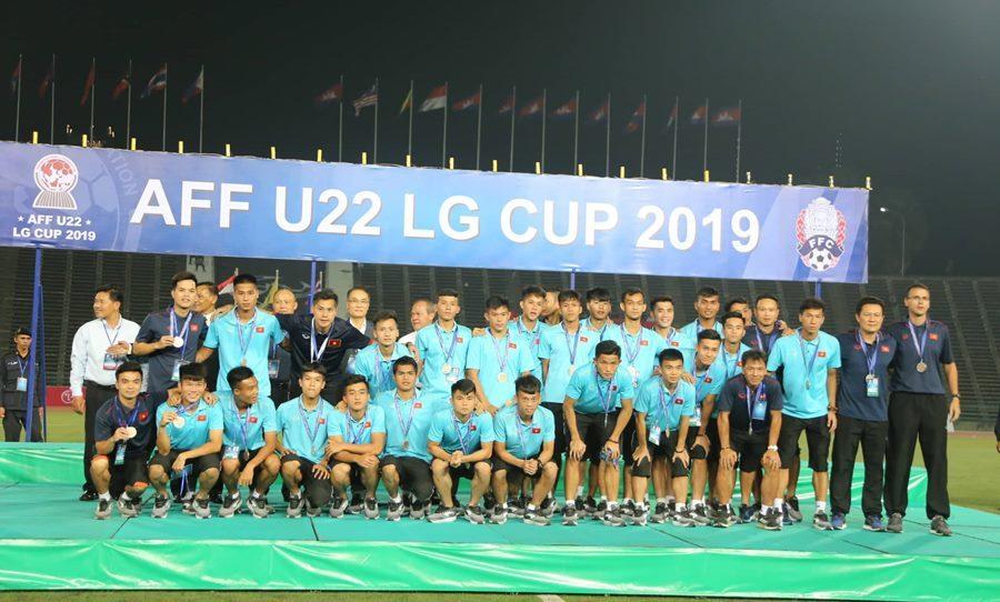 Thắng nhọc Campuchia, U22 Việt Nam đoạt hạng 3 giải ĐNÁ