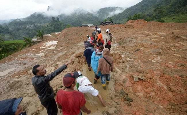 Ít nhất 60 người bị vùi lấp trong mỏ vàng Indonesia