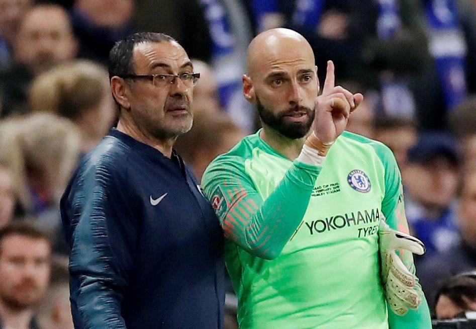 Sarri thẳng tay phế bỏ Kepa trận Chelsea vs Tottenham
