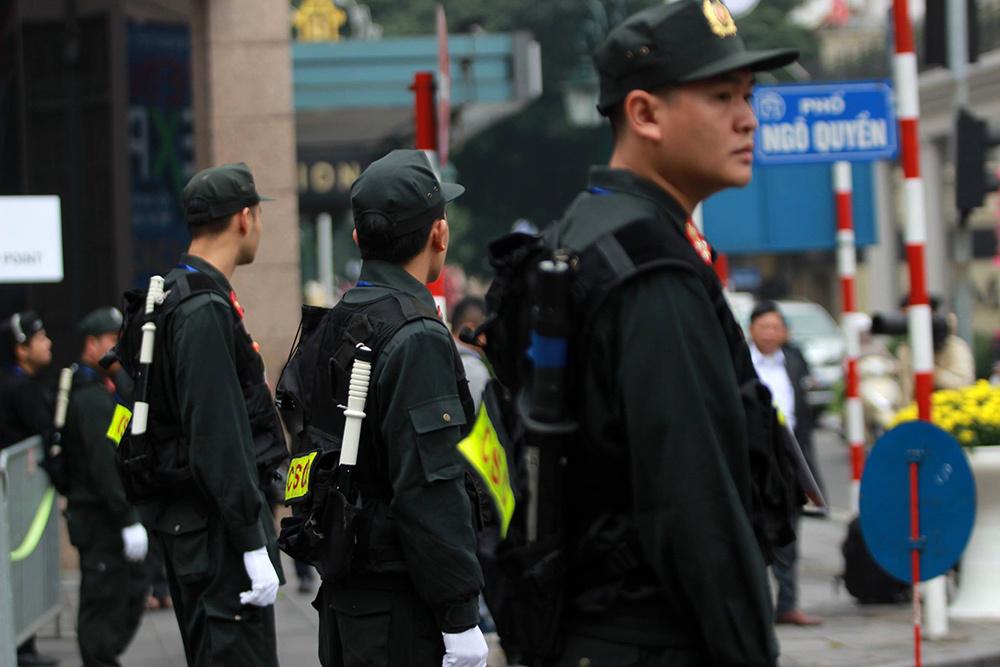 Ngày đầu Thượng đỉnh: An ninh Mỹ-Triều có mặt tại Metropole