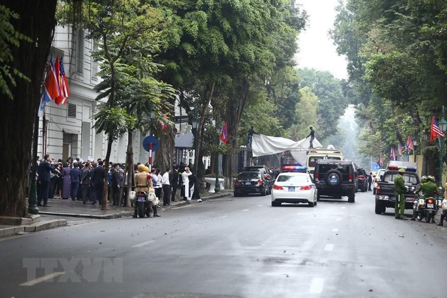 Đoàn Triều Tiên kiểm tra khách sạn Metropole chuẩn bị cho cuộc gặp
